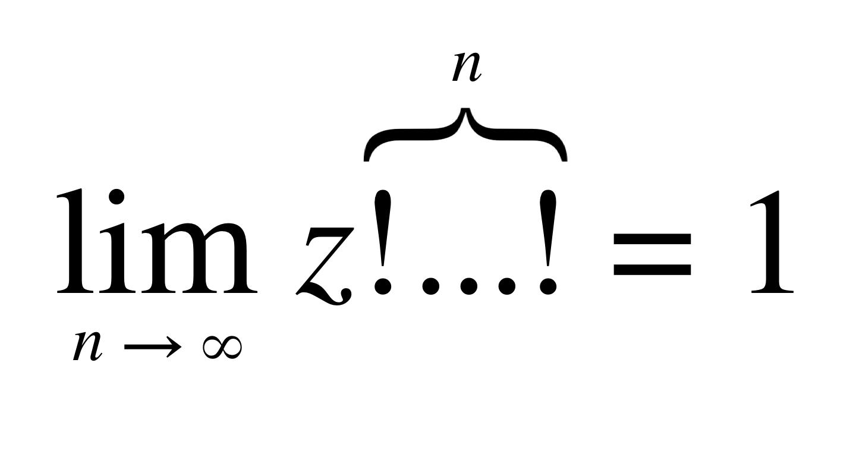 Factorial Fractal Equation