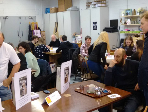 The P2S Casting Event winding down. Photo courtesy of Fruit & Fibres Canteen & Craft Workshop
