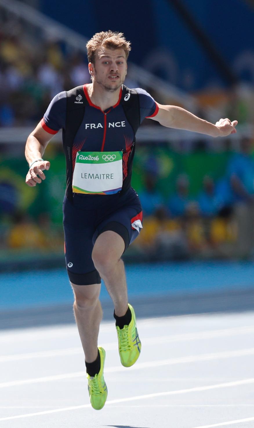 Rio de Janeiro - Rodada classificatória na prova de 100m rasos de atletismo dos Jogos Rio 2016 Estádio Olímpico. (Fernando Frazão/Agência Brasil)